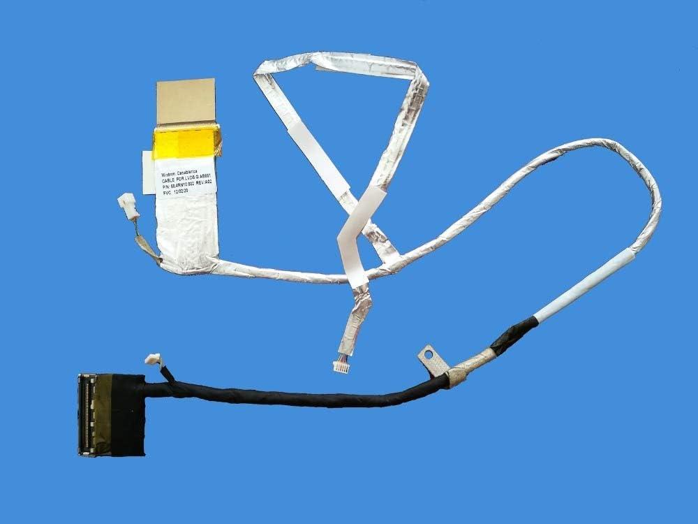 Cables New LCD Cable for HP Pavilion DV6-6000 DV6-6XXX dv6-6195ca DV6-6c35dx DV6-6135 DV6-6137 50.4RH02.002 Video Flex Screen LVDS - (Cable Length: Other)