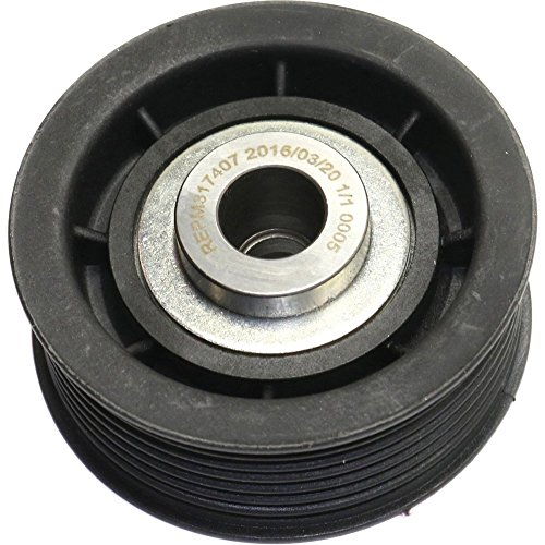 Evan-Fischer EVA4261261630 Accessory Belt Idler Pulley for Mitsubishi Montero 01-06 Upper Grooved Pulley (Accessory Drive Pulley)