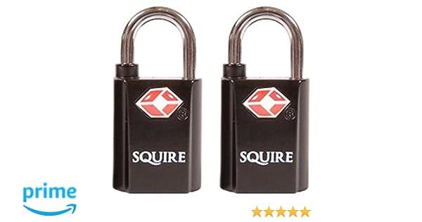Squire - Paquete de 2 tecleé cerraduras maleta de equipaje por igual.: Amazon.es: Bricolaje y herramientas
