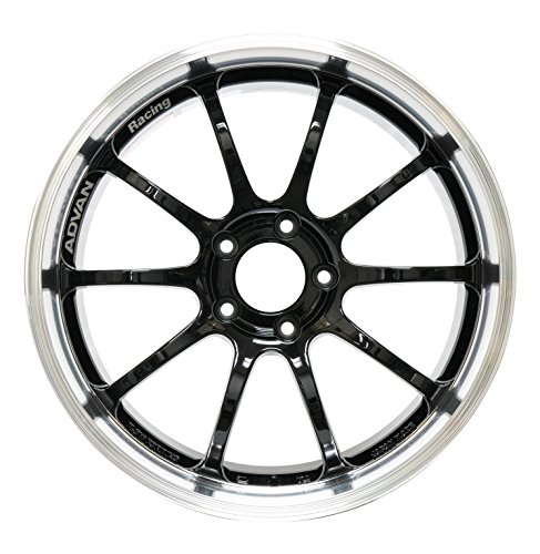(Yokohama Wheel Advan RS-D Black Wheel with Painted Finish (19x10
