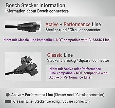 Bosch, Color Antracita, tamaño 500 WH - 36 V: Amazon.es: Deportes ...