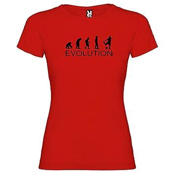 Kruskis 11502145XXLS137 Camiseta, Mujer, Rojo, 2XL