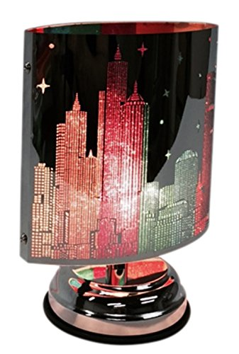 Aurora Skyline Touch Lamp Oil Warmer with Touch Power Adjuster (Touch Aroma Lamp compare prices)