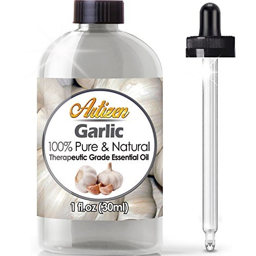 (Artizen Garlic Essential Oil (100% PURE & NATURAL - UNDILUTED) Therapeutic Grade - Huge 1oz Bottle - Perfect for Aromatherapy, Relaxation, Skin Therapy & More!)