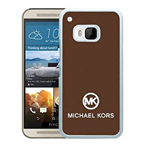 Genuine MK HTC ONE M9 Case,Michael Kors 91 White HTC ONE M9 Screen Phone Case Fashion and Newest Design