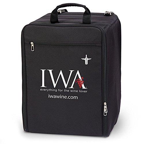 Wine Check Luggage Complete Set Black #7743