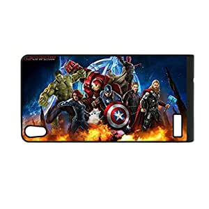 Generic For Huawei P6 Durable Soft Personalised Phone Case For Children Custom Design With Avengers Age Of Ultron 2 Choose Design 12