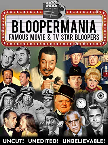 Bloopermania - Famous Movie & TV Star Bloopers, Uncut! for sale  Delivered anywhere in USA