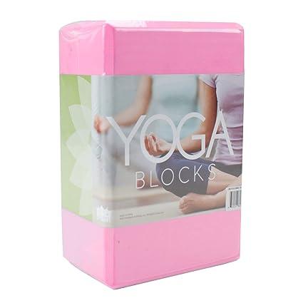 Amazon.com: Gran bloque de espuma de alta densidad de yoga ...