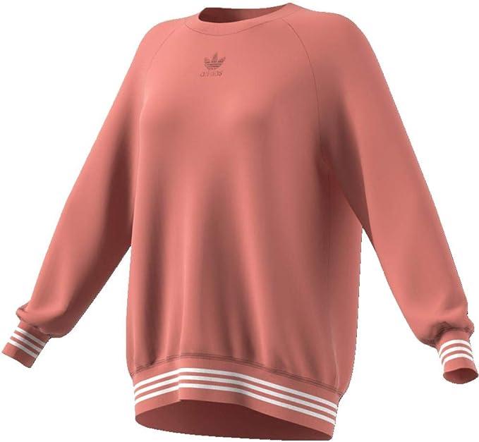 adidas Damen Sweatshirt Sweatjacke: : Bekleidung