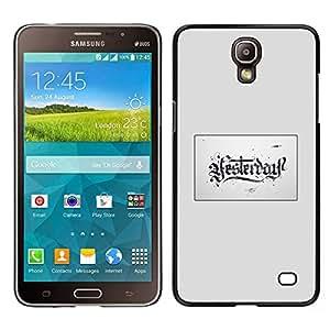 LECELL--Funda protectora / Cubierta / Piel For Samsung Galaxy Mega 2 -- Carta Cubo --