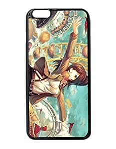 Anime Girl Mood Art Durable Unique Design Hard Back Case Cover for iphone 5 5s -