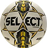 SELECT Viking Soccer Ball - Size 5 White/Yellow