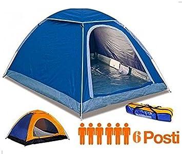 Camping Cortina 6 puestos canadiense igloo Camping viaje con ...