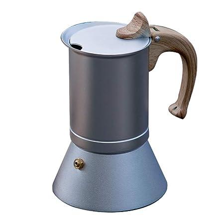 MAATCHH Mocha Pot Espresso Cafetera nórdica Moka Pot Comestible de ...