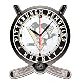 Wincraft NHL 2739311 Pittsburgh Penguins High Definition Plaque Clock