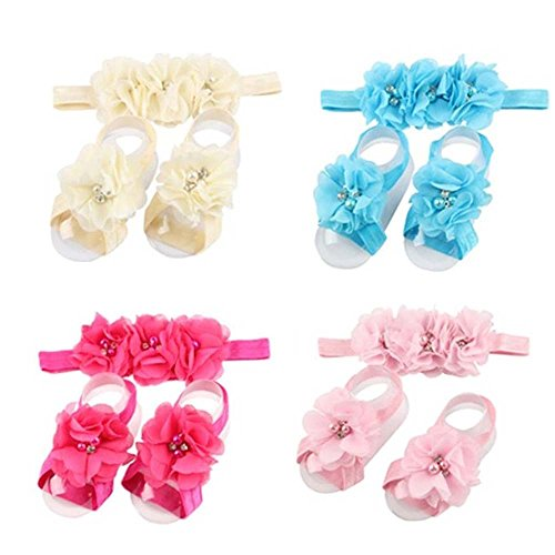 baby feet bow - 4