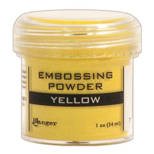 Ranger Embossing Powder, 1-Ounce Jar, Yellow - Embossing Powder 1 Oz Jar