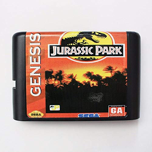 Jurassic Park Rampage Edition 16 bit MD Game Card For 16 bit Sega MegaDrive Genesis game console ,Sega Genniess-Sega Ninento,16 bit MD Game Card
