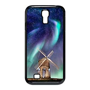 The Aurora Borealis DIY Cover Case with Hard Shell Protection for SamSung Galaxy S4 I9500 Case lxa#379837