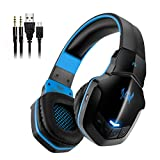 Bluetooth Headphones, V4.1 Wireless Gaming Headset with Microphone Bluetooth Headset Earphone for PC Computer Laptop Phone