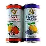 Peach and Lavender Gourmet Lemonade Variety Pack, 8 oz. each