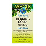 Whole Earth & Sea – Herring Gold 1000mg, Sustainably Harvested Support for a Healthy Heart and Brain, 60 Softgels Review
