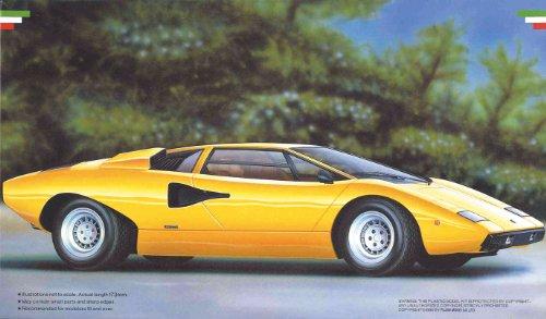 フジミ模型 1/24 エンスージアストモデルシリーズ No.26 ランボルギーニ カウンタック LP400の商品画像