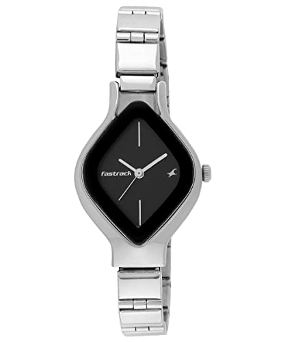 4. Fastrack Analog Black Dial Women's Watch