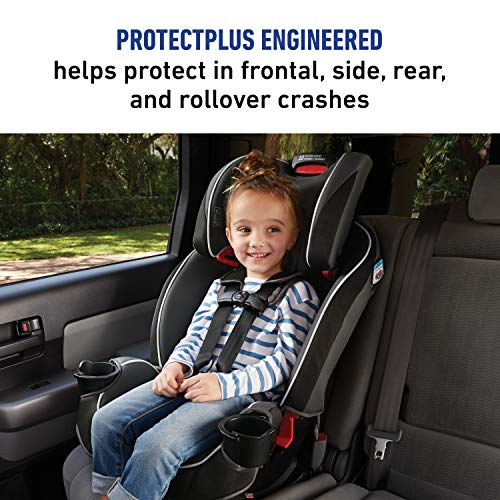 516gGF5VaoL - Graco SlimFit 3 In 1 Car Seat | Slim & Comfy Design Saves Space In Your Back Seat, Darcie