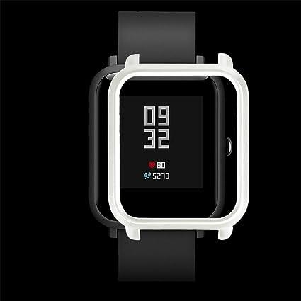 Guobin Funda Completa para Huami Amazfit Bip Youth Watch Protección Suave de TPU de Silicona Smartwatch Protector