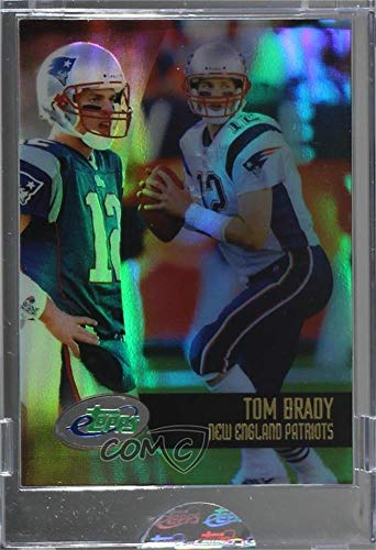 Tom Brady Ungraded Manufacturer Uncirculated (Football Card) 2002 eTopps - [Base] #1