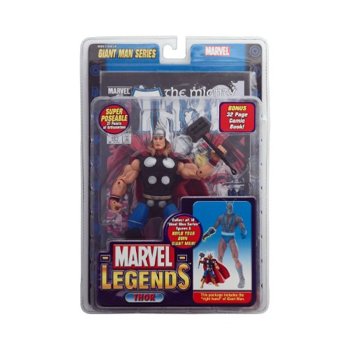 Marvel Legends Thor (Marvel Legends Exclusive Series Action Figure Thor with Giant Man Builder)