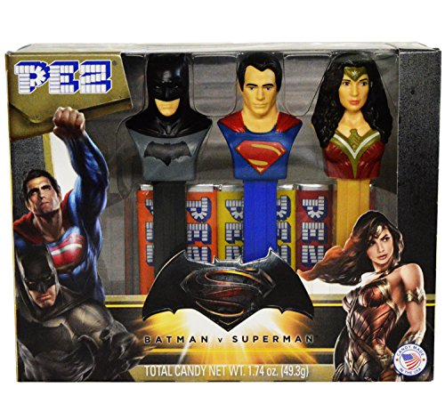 Batman V Superman: Dawn of Justice PEZ (Blood Collect Set)