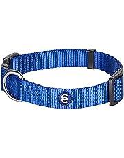 Blueberry Pet Classic Solid Basic Polyester Nylon Dog Collar