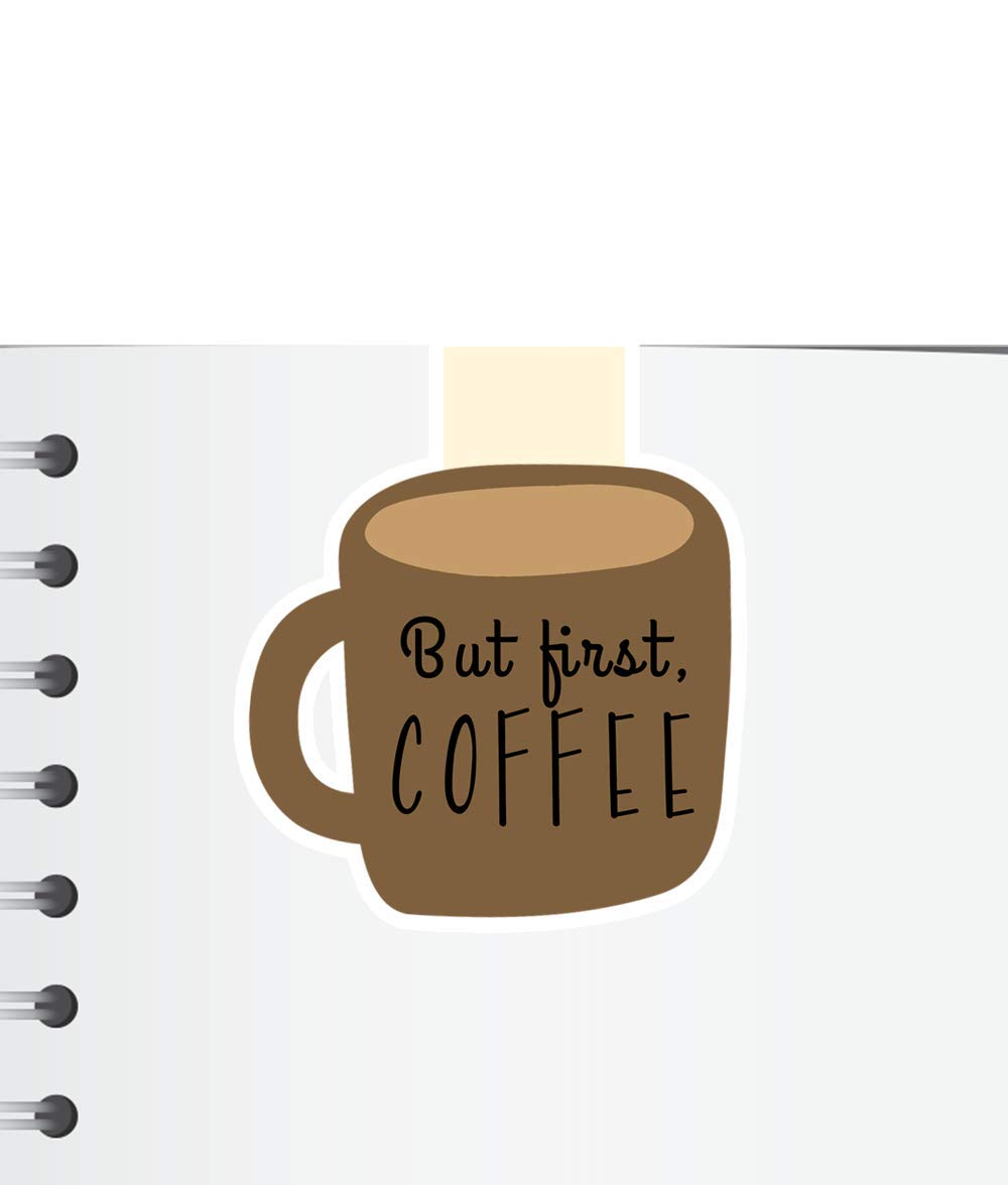 But First Coffee Magnetic Bookmark