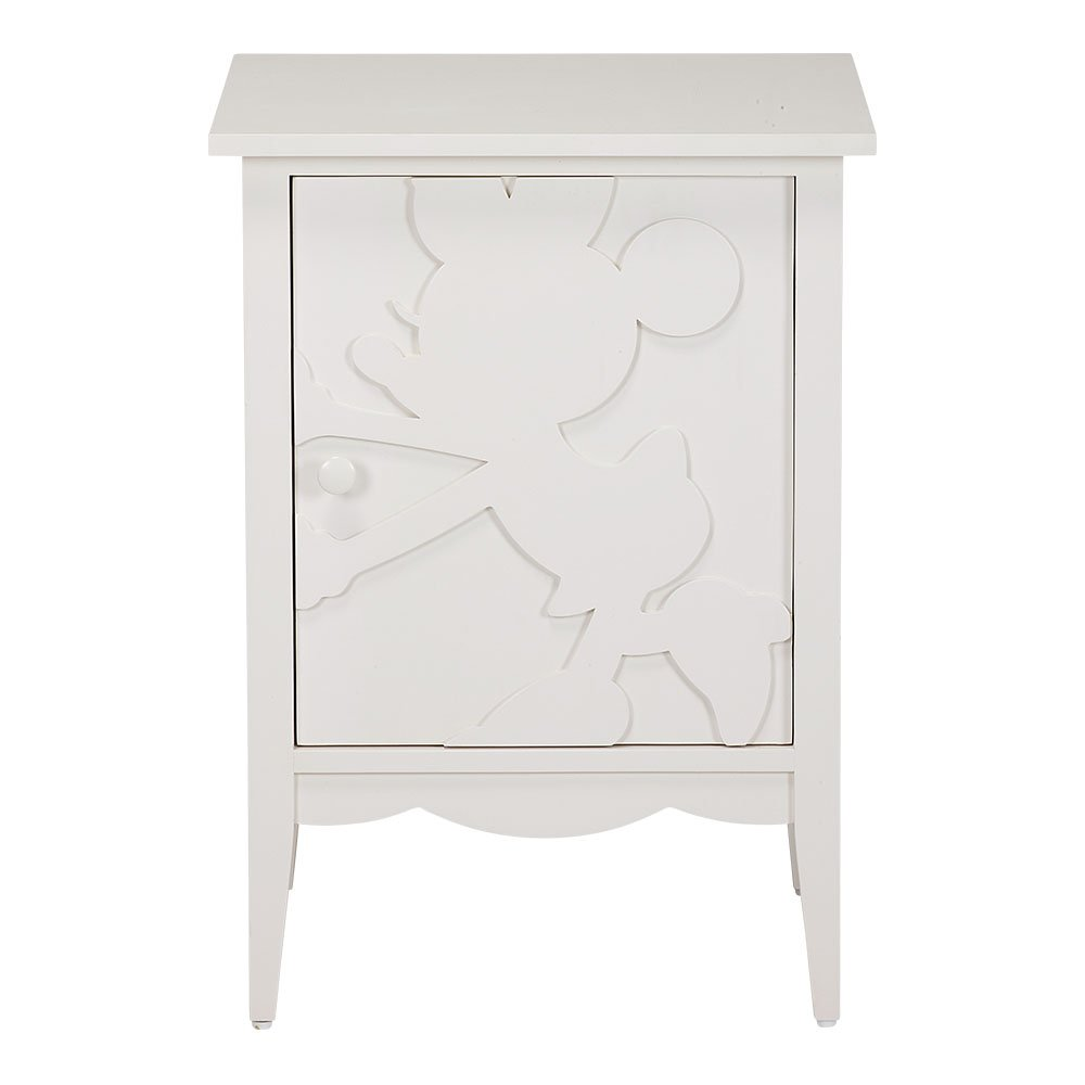 Ethan Allen | Disney Minnie Mouse Shadow Cabinets, Snow, Right