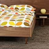 Multi Stem Bedding Sets - Duvet Cover with Two Pillowcases - 100% Cotton (King Set)