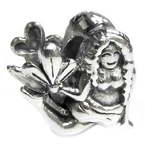 Sterling Silver Zodiac Virgo European Style Bead Charm