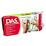 DAS Air Hardening Modeling Clay, 1.1 Pound Block, White (387000)