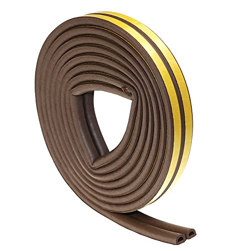Self-Adhesive Weather Stripping EPDM Sealing Strips Foam Peel & Stick Draught Excluder for Doors and Windows