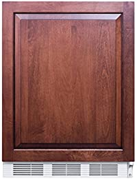 Summit FF61BIIF Refrigerator, Brown