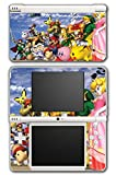 Super Smash Bros Melee Brawl Link Zelda Peach Dr Mario Ice Climbers Mewtwo Bowser Luigi Samus Video Game Vinyl Decal Skin Sticker Cover for Nintendo DSi XL System