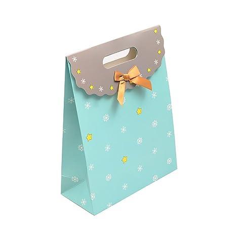 Pack de 12 Velcro bolsa de papel de regalo boda favor Candy ...