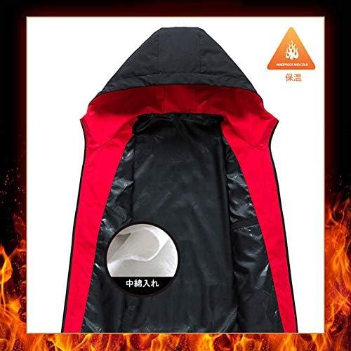 ジャケット メンズ 中綿 カジュアル コート 厚手 ブルゾン 秋冬 フード付き 無地 おしゃれ おおきいサイズ FULINE