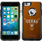 Coveroo Commuter Series Cell Phone Case for iPhone 6 Plus - Retail Packaging - University of Texas Watermark
