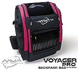 MVP Disc Sports Voyager Pro Backpack Disc Golf Bag - Raspberry