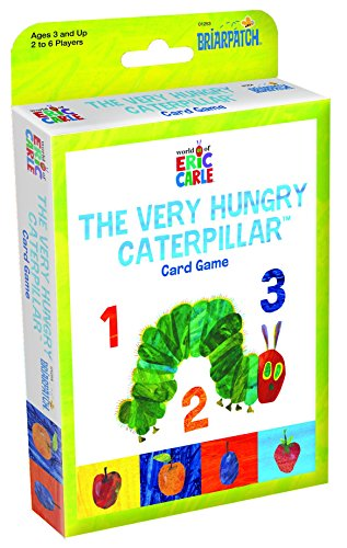 The World of Eric Carle Very Hungry Caterpillar Card Game (Hungry Caterpillar Days Of The Week Cards)