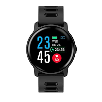 WWVAVA Bluetooth Smart Watch Heart Rate Health Monitor Sport ...