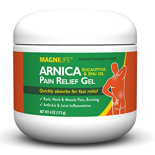 Arnica Pain Relief Gel | Muscle, Arthritis, Joint, Back, Neck and Shoulder Pain Relief Cream | 4 (Shoulder Cream)